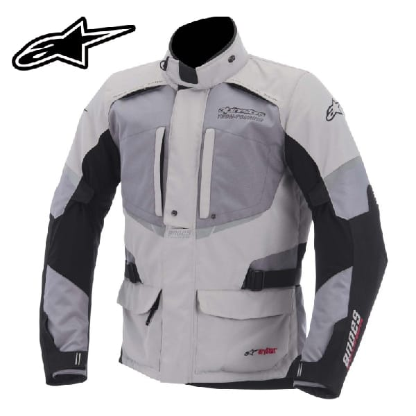 CHAQUETA ANDES DRYSTAR GRIS - GRIS/NEGRA