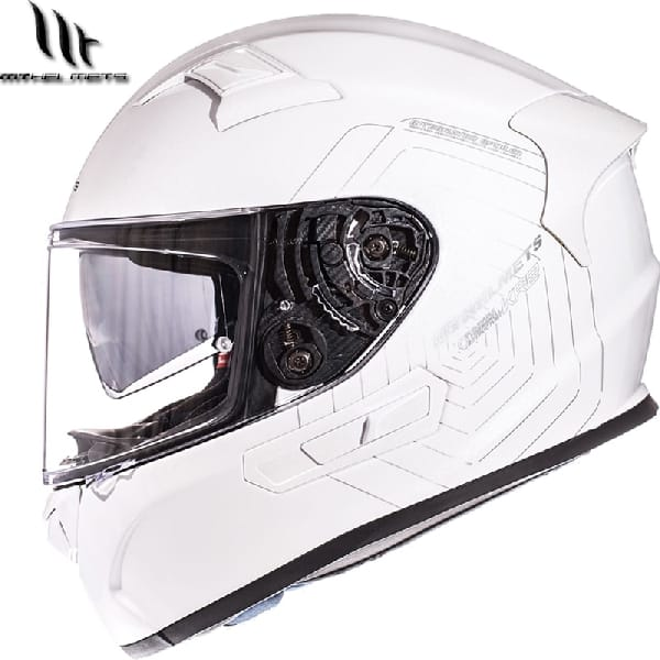 Casco Integral MT KRESV Blanco