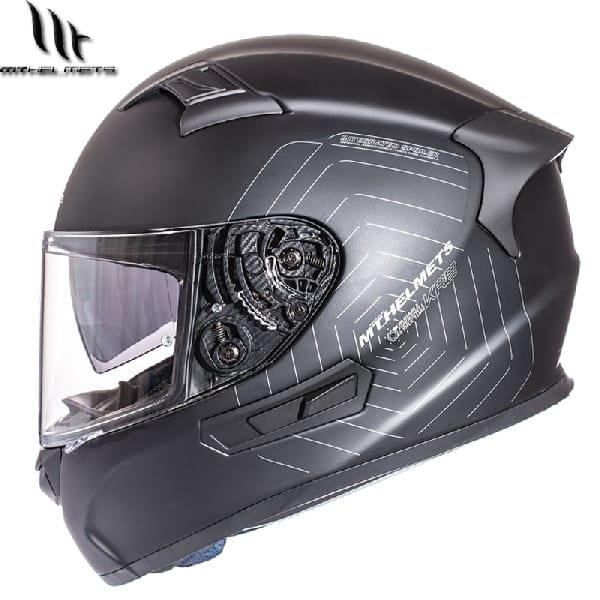 Casco Integral MT KRE SV Negro Mate