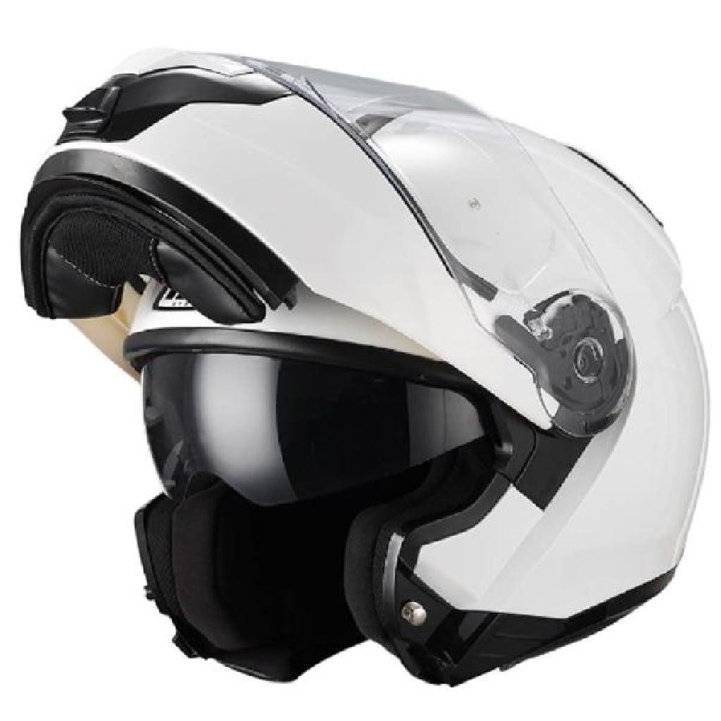 b09718bffd5d2 Moto Fusión - Casco Modular Nzi Combi Duo Blanco