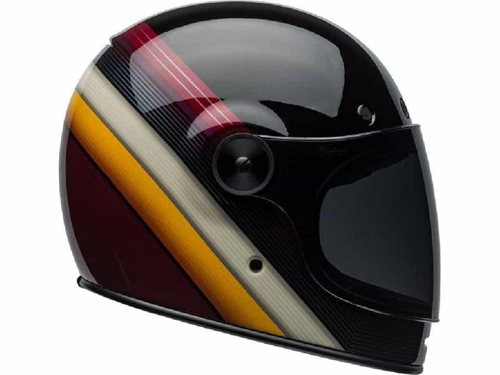 2887c93b413 Moto Fusión - Casco Integral Bell Bullitt DLX Bornout Negro Blanco Marron